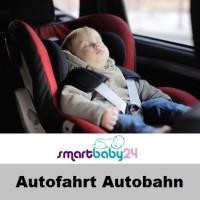 Autofahrt-Autobahn