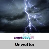 Unwetter und Regen