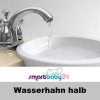 Wasserhahn halb