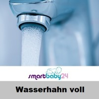 Wasserhahn voll