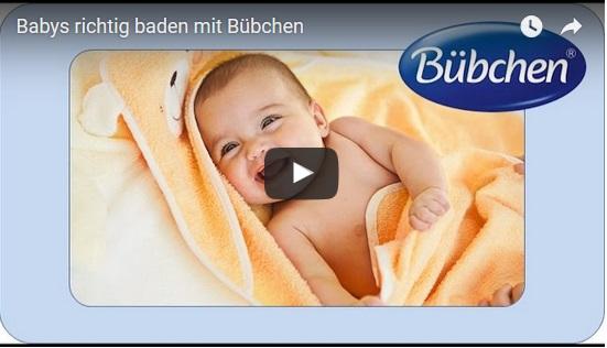 Das Baby richtig baden