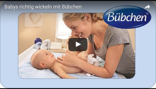 Wickelanleitung – Babys richtig wickeln