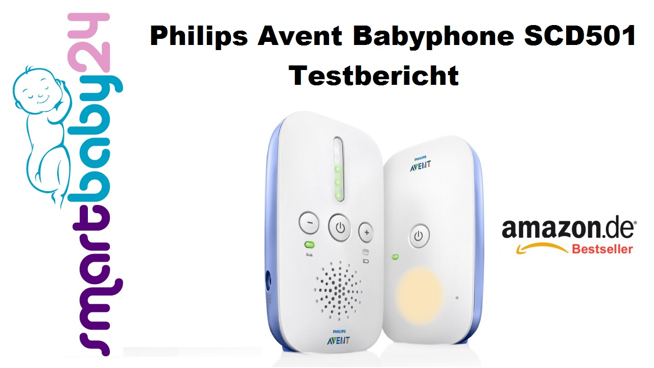 Philips Avent Babyphone SCD501 Testbericht