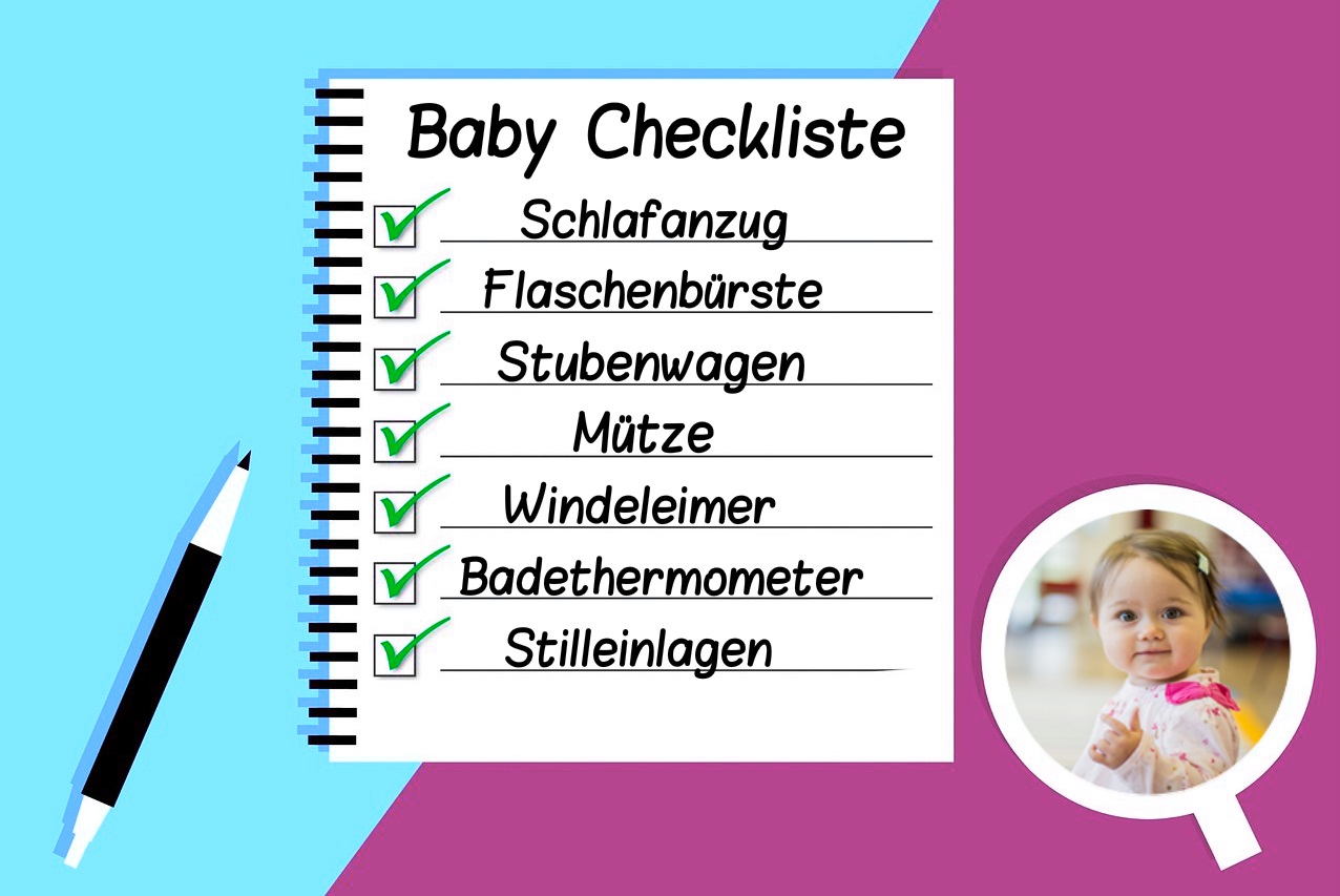 Baby Erstausstattung mit Checkliste