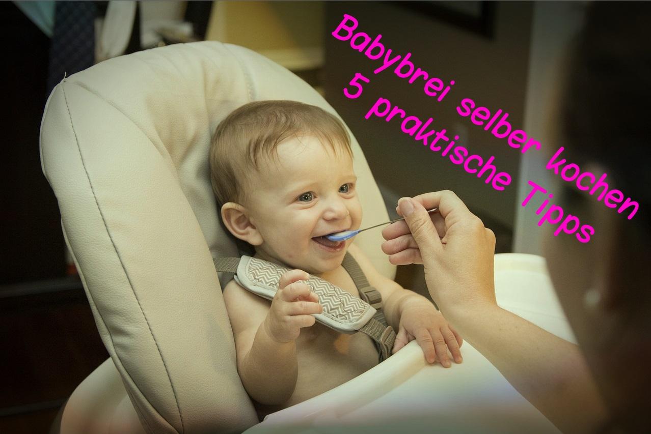 Babybrei selber kochen: 5 praktische Tipps